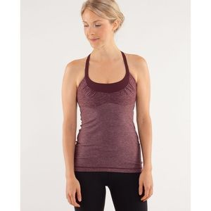 Lululemon Scoop Me Up Tank - Heathered Bordeaux
